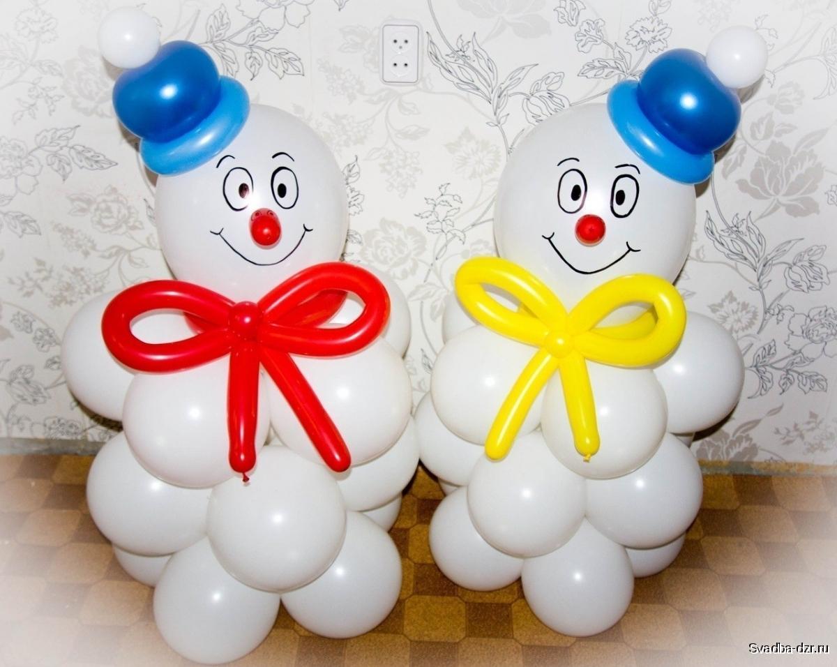 Надувные шары своими руками мастер класс